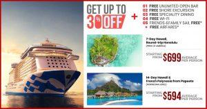 Hawaii Island Cruise Deal