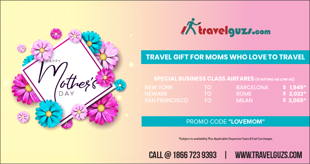 Mother's Day Holiday - Why Traveling Is The Best Gift For Moms