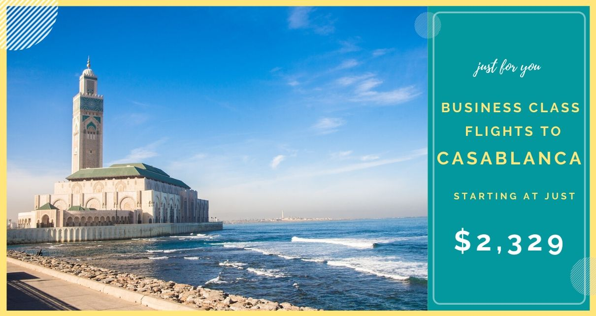 Deal On Flights To Casablanca