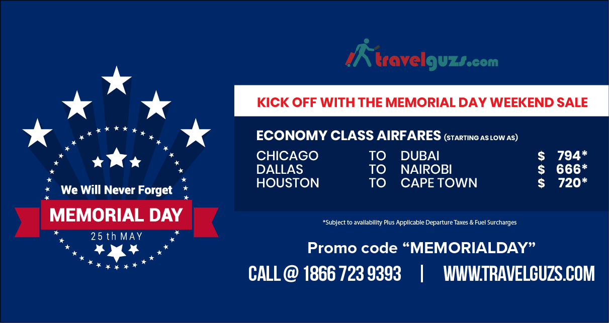 Travel To Make Memories This Memorial Day Weekend