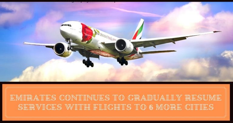 Emirates has Rebuilding It's Network By Bringing More Services (2)