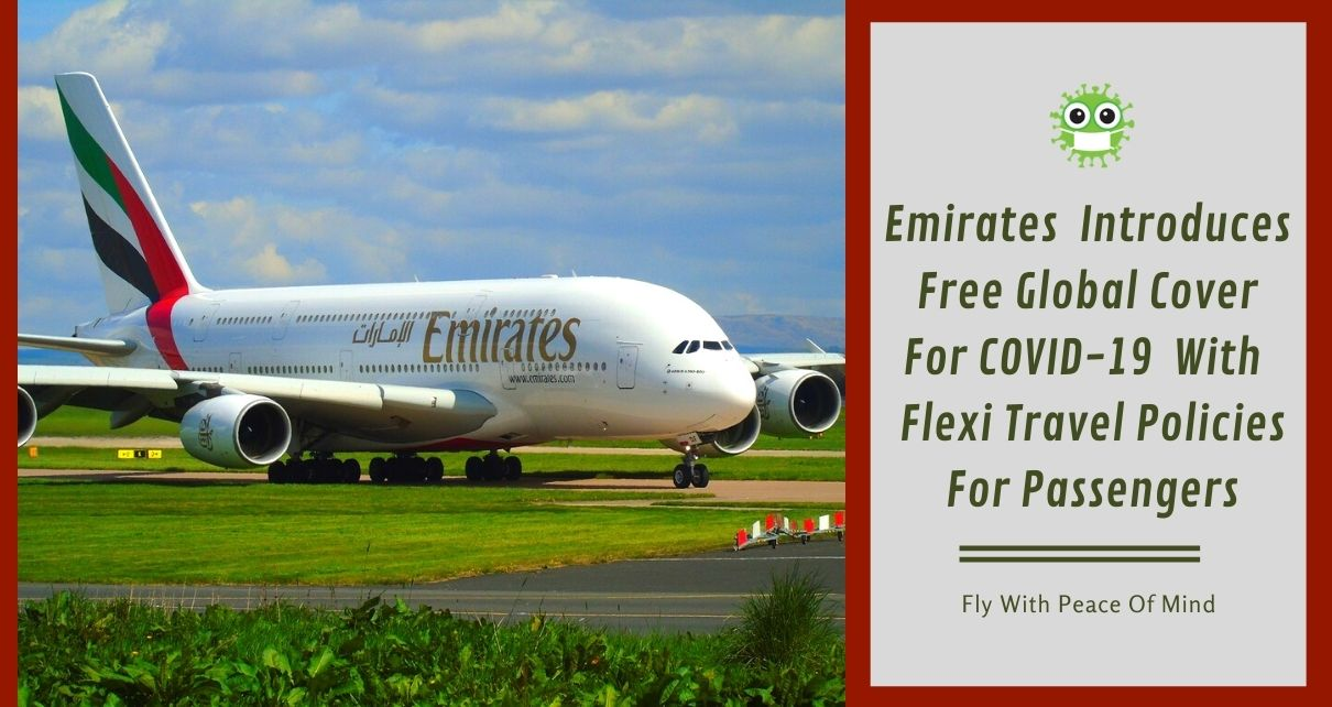 Free Global Cover For COVID-19 For Emirates Passengers