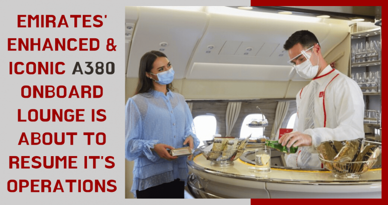 Emirates' next generation signature onboard experience is about to resume