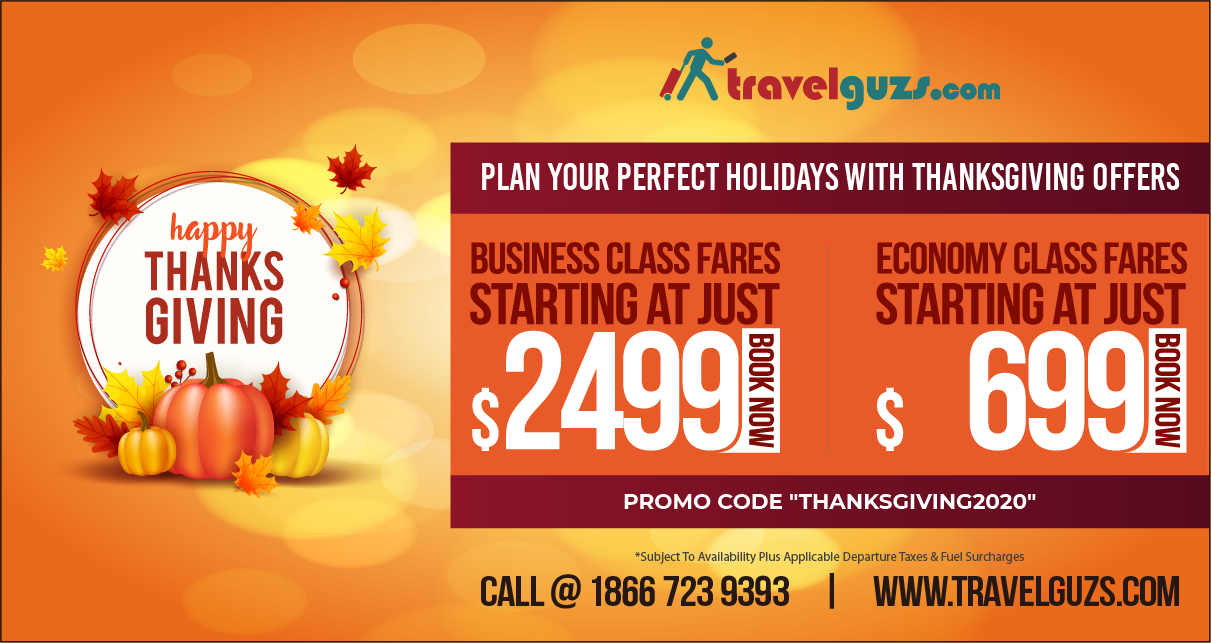 Thanksgiving Flight Deals