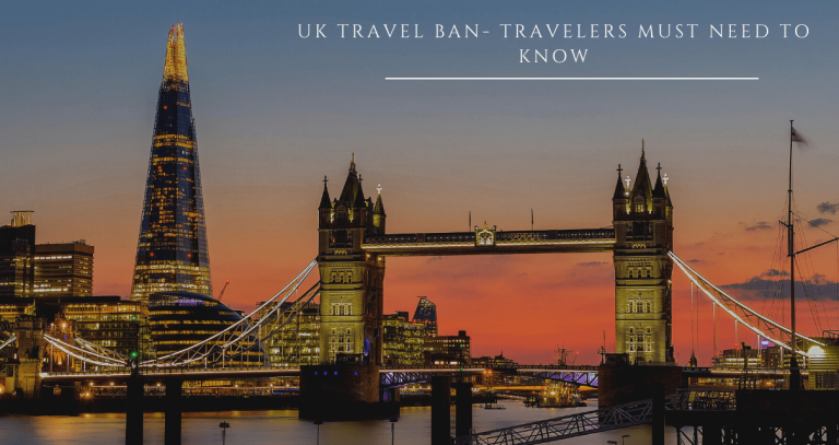 UK travel Ban