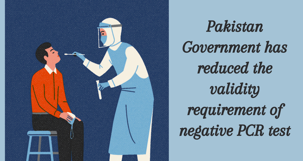 Pakistan Introduces New PCR Policy For Travelers From The UAE, Other Countries