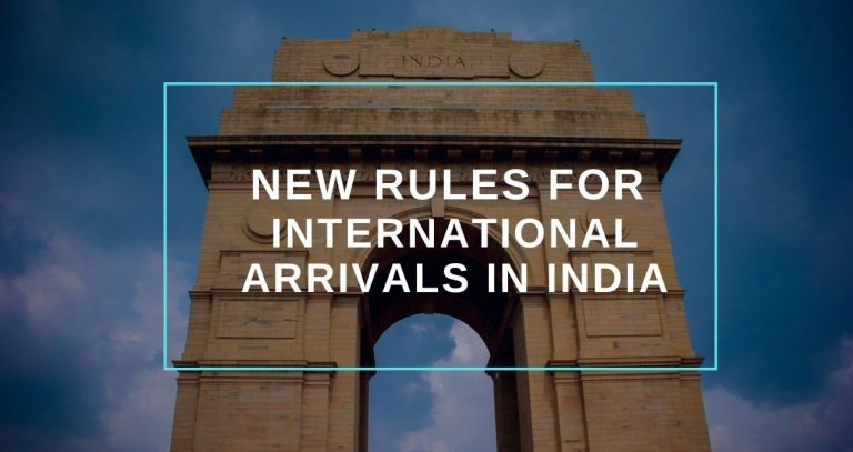 New Rules For International Travel to India