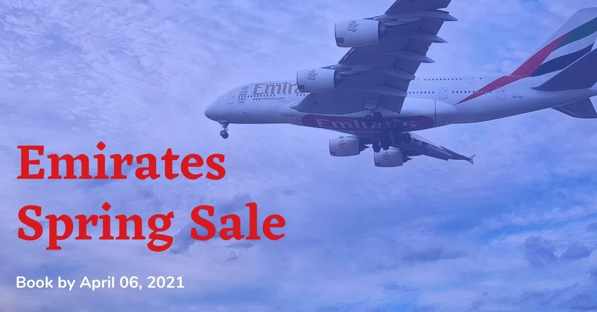 Emirates Spring sale