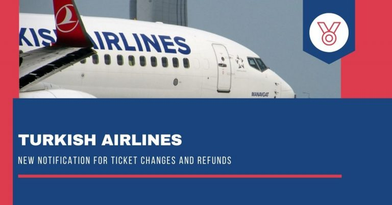 Turkish Airline New bulletin for ticket changes