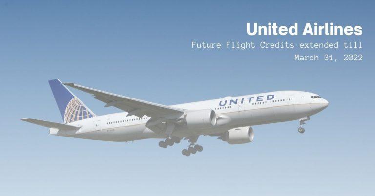 United Airlines future flight
