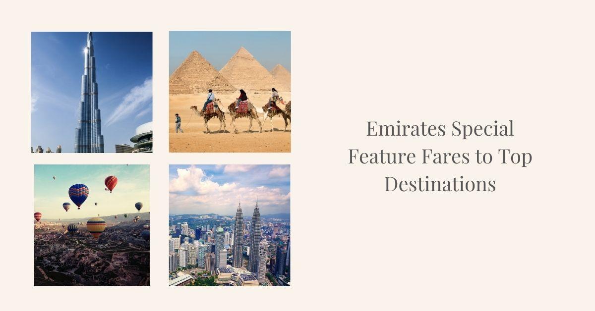 Emirates Feature fares