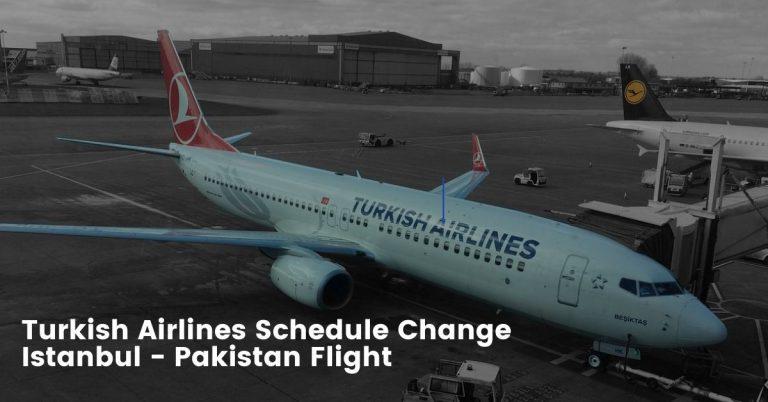 Turkish Airlines Schedule Change