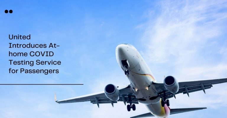 United Home testing Kit for passengers