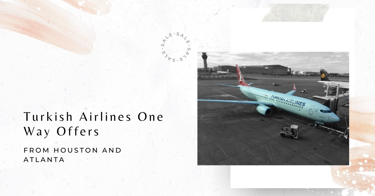 Turkish Airlines One way offers